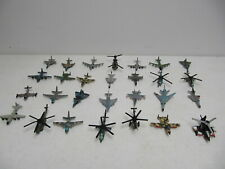 Vintage 90s Micro Machines Military War Army Aircraft Plane Helicopter Lot of 28