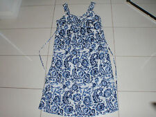 Empire Waist Casual Floral 100% Cotton Dresses for Women