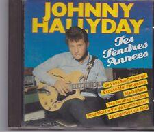 Johnny Hallyday-Tes Tendres Annees cd album