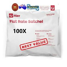 Australia Post 152129583499 Flat Rate Satchel 5Kg (100 Bag pack)