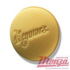 2x Meguiars Soft Foam Car Wax / Polish / Tyre Gloss / Leather Applicator Pads