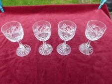 Britain Wine Glass Vintage Original Crystal & Cut Glass