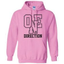 Small Ladies Pink One Direction Athletic Logo Hooded Top - Hoodie