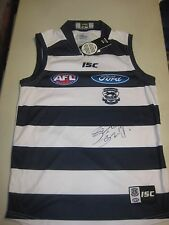 Geelong- Joel Selwood signed Cats jersey-has all premiership years inside collar