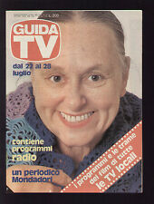 GUIDA TV MONDADORI 29/1979 AVE NINCHI LUCIANO SALCE BATMAN ZORRO LONE RANGER