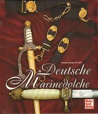 1729: Deutsche Marinedolche, Hermann Hampe / Vic Diehl   SONDERPREIS