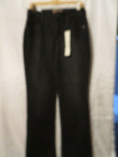 Hannah Black Stretch Jeans, Boot Cut, Tummy Control Panel, Cotton Blend, NWT, 6