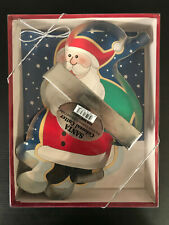 Fox Run Santa Colossal Cutter For Giant Cookies Cakes and Crafts Handle 3538
