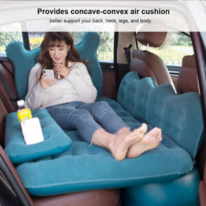 Air Inflatable Bed Sleeping Rest Mattress Soft Cushion for Car SUV Truck Travel