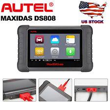 US Autel MaxiDAS DS808 Pro OBD2 Auto Diagnostic Tool Code Scanner Update ds708