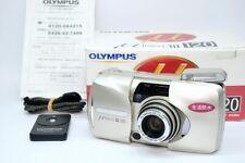 [N MINT BOX] Olympus μ mju III 120 Point & Shoot Film Camera From JAPAN #210864
