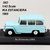 1/43 IXO IKA ESTANCIERA 1965 Blau Die Cast Auto Modell seltene Kollektion