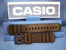 Casio Watch Band ARW-320, AQ-130. Black Resin Strap For Alti-Depth Digital Analo