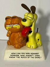Vintage Garfield & Odie figurine Enesco