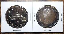 Canada 1972 Voyageur Gem Specimen Silver Dollar with Beautiful Natural Toning!!