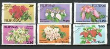 PHILIPPINES 1979 FLOWERS MUSSAENDAS COMP. SET OF 6 STAMPS SC#1411-1416 FINE USED