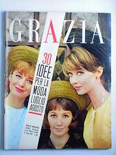 GRAZIA // rivista settimanale //  15 luglio 1962  N. 1117