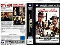 """VHS - """" City HEAT - Der Bulle und der Schnüffler """" (1984) - Clint Eastwood"""