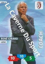 LOSC-02 RENE GIRARD # LILLE CARD ADRENALYN FOOT 2014 PANINI