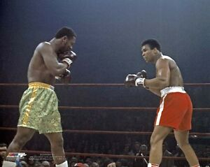 1971 Heavyweight Boxers JOE FRAZIER vs MUHAMMAD ALI Glossy 8x10 Photo Print