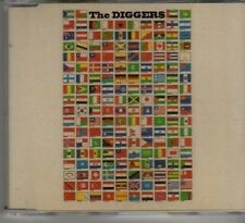 (AX858) The Diggers, Peace Of Mind - 1996 DJ CD