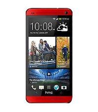 HTC One M7 - 64GB - Red (Unlocked) Smartphone