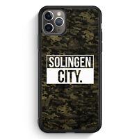 Solingen City Camouflage iPhone 11 Pro Silikon Hülle Motiv Design Deutschland...
