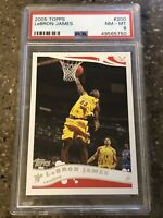 2005-06 Topps LeBron James #200 PSA 8 NM-MT