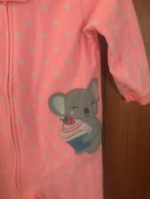 *Girls Size 18 Months 🎀 Footed Fleece Winter Pajamas 🎀 Carters