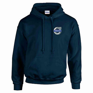 Volvo FH12 - 16 Globetrotter Heavyweight Hoodie Sweat All Sizes S - XXL Navy New