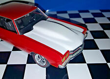 Resin Bubble Hood for '70 & '72 Chevelle SS.  AMT 1/25. Includes Jack Reacher.