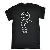 Bam Stickman T-SHIRT Fashion Tee Hipster Cartoon Funny Present Gift Birthday