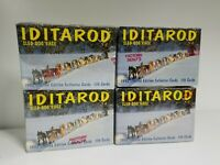 4 BOX LOT Iditarod Sled Dog Racing Limited Edition Factory Trading Card Set.