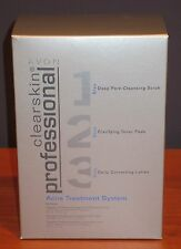 Avon Clearskin Professional Acne Treatment Box Set Cleanser Toner Lotion $28 NIB