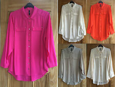 Evans Patternless Business Tops & Shirts for Women