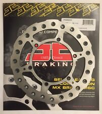 Yamaha YZ400F (1998 to 1999) JT Brakes Self Cleaning FRONT 245mm Wavy Brake Disc