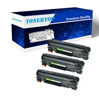 3 CE278A 78A Black Toner Cartridge Compatible with HP Laserjet Pro P1606 Printer