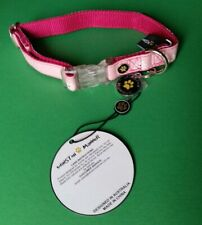 Winston Manner Dog Puppy Collar Spring Dog Daisy Floral Adjustable Small Pink