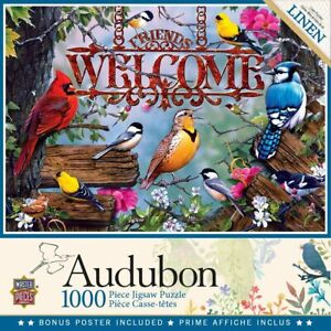 Audubon - Perched 1000 Piece Jigsaw Puzzle