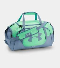 8472c308017b Under Armour Undeniable Duffle 30 Small Bag - Green Typhoon   Washed Blue