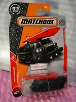 2018 MATCHBOX #83 ATTACK TRACK☆black tank;red missle☆MBX Rescue☆65TH ANNIVERSARY