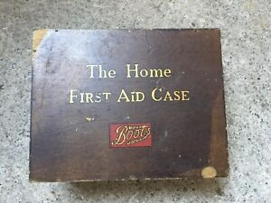 Vintage Boots First Aid Box
