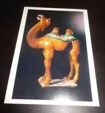 Chinese Ceramic Camel Advertising Postcard - John Berwald