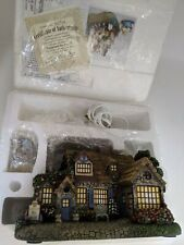 Thomas Kinkade Hawthorne Village Lamplight Tea Room #79985