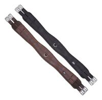 Pressure Relief Soft Comfort Nylon Girth With Memory Foam Inner Black Or Brown