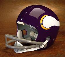 Minnesota Vikings style NFL Vintage Football Helmet - FRAN TARKENTON 1972-1973