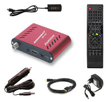 MINI DECODEUR SATELLITE HD COMPACT 220V 12V - DEMODULATEUR RECEPTEUR FTA HDMI