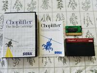 Choplifter (Sega Master, 1986) - Authentic - Complete! CIB!