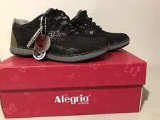 NEW Alegria Essence Walker Casual Shoes Black ESS-822 SNEAKERS EU 35 US 5-5.5