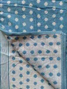 100% Cotton Fabric Bath Towel Full Big Size 30 x 60 Plain Self Design at Border
